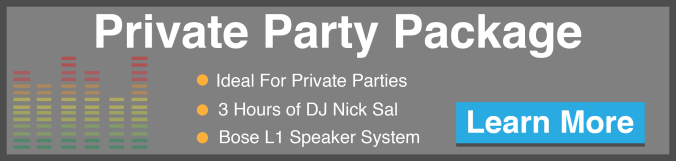 Private Party Package CTA